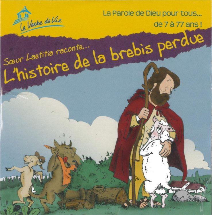 CD L'histoire de la brebis perdu raconté par Soeur Laetitia