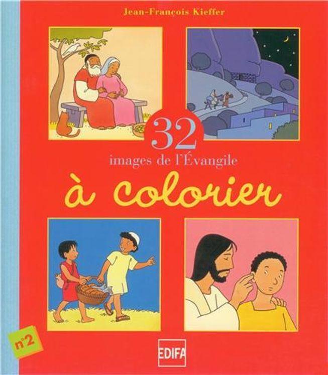32 images de l'Evangile à colorier, n°2