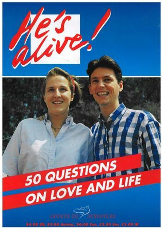 N°909 - 50 questions en anglais sur la vie l´amour - he is alive