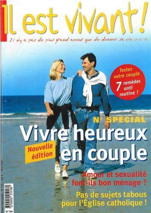 Pack de  5 Il est vivant n° 194 Vivre heureux en couple